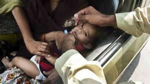 Vaccinazione anti polio in Pakistan