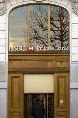 Banca Hsbc, una filiale di Ginevra