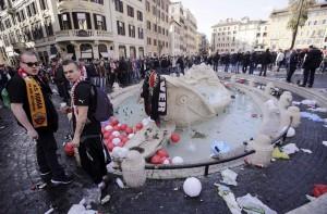 """Roma-Feyenoord: Marino contro questore. E Alfano? Questore: """"Non mi dimetto"""""""