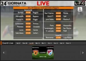 Benevento-Lupa Roma: diretta streaming su Sportube.tv, ecco come vederla
