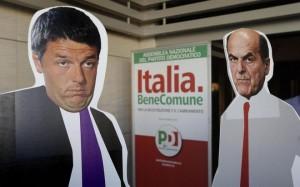 "Pd. Renzi riunisce i parlamentari, minoranza diserta. FI: ""Forza Bersani"""
