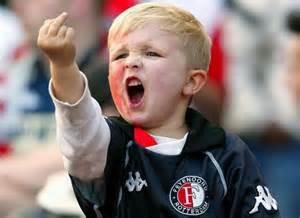 Un piccolo tifoso del Feyenoord