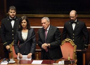 """Boldrini e Grasso: """"Aboliamo vitalizi ai condannati"""". Aspettiamo due settimane..."""