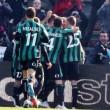 Pagelle, Sassuolo-Inter 3-1: Zaza, Sansone, Icardi e Berardi gol