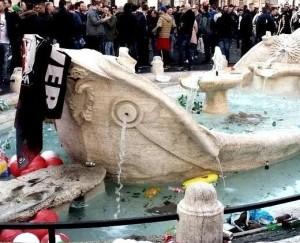 Ultras devastano Roma, non solo Feyenoord: Cska, Legia, Tottenham...