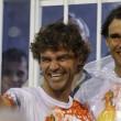 Rafael Nadal e David Ferrer al Carnevale di Rio de Janeiro02