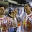 Rafael Nadal e David Ferrer al Carnevale di Rio de Janeiro01