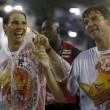 Rafael Nadal e David Ferrer al Carnevale di Rio de Janeiro06