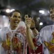 Rafael Nadal e David Ferrer al Carnevale di Rio de Janeiro4