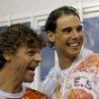 Rafael Nadal e David Ferrer al Carnevale di Rio de Janeiro03