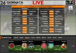 Carrarese-Lucchese: diretta streaming su Sportube.tv, ecco come vederla