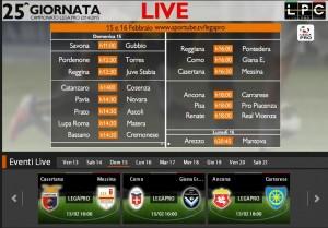 Casertana-Messina: diretta streaming su Blitz con Sportube.tv, ecco come vederla