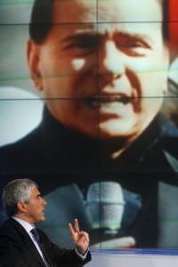 Politica in tv, sequenze seriali della crisi italiana
