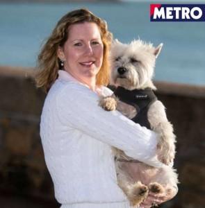 Catherine e Molly: padrona e cagnolina con la stessa malattia, stesso pacemaker