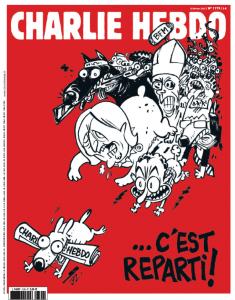 """Charlie Hebdo torna con 2,5 milioni di copie: """"Si ricomincia"""""""