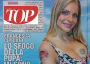 "Francesca Cipriani scartata, si era tatuata loro Isola: ""Ripescatemi"""