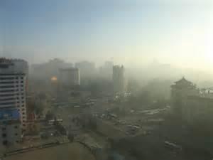 Inquinamento a Pechino