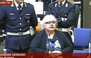 """Cosima Serrano piange in aula VIDEO, poi: """"Michele Misseri era a casa, non so dove"""""""