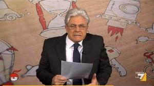 """Crozza-Mattarella: """"Saluto chi può riposare dopo mia elezione...Mentana"""" VIDEO"""