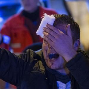 Roma-Feyenoord, città blindata: 1.300 agenti, non solo all'Olimpico (foto Ansa)