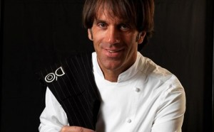 """Davide Oldani: """"Nel pesto metto il burro"""". Dopo l'amatriciana con l'aglio..."""