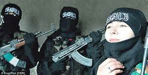 Donne foreing fighter in Siria