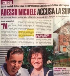 Elena Ceste, l'articolo di Giallo