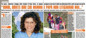 """Elena Ceste, Michele Buoninconti e la testimone a Mattino 5: """"Non disse che era sposato"""""""