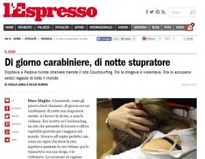 L'articolo dell'Espresso