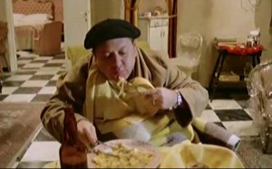 Frittatona di cipolle, peroni gelata e...