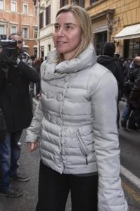 Federica Mogherini (foto Lapresse)