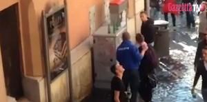 Roma-Feyenoord, ultrà olandesi urinano sui muri del centro VIDEO