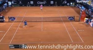 VIDEO YouTube Fabio Fognini, il match-point con cui batte Nadal