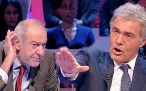 Rai, lite con Capanna potrebbe costare a Giletti 10-20 mila euro di multa