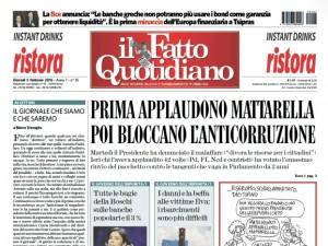 """Marco Travaglio sul Fatto Quotidiano: """"Il giornale che siamo e che saremo"""""""