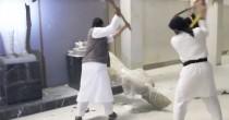 Statue e civiltà  sono distrutte Isis demolisce  culla dell'uomo