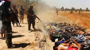 Esecuzione di massa Isis in Iraq