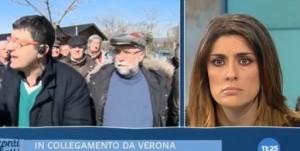 Elisa Isoardi e il servizio sulla tassa di Tosi