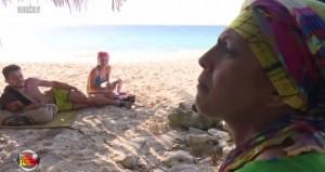 Isola dei Famosi 2015, la lite tra Rachida e Valerio Scanu VIDEO