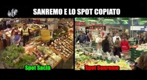 Le Iene, Sanremo e lo spot copiato