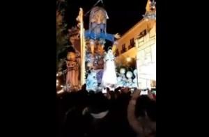 Gallipoli (Lecce). Crolla carro del Carnevale: ferite due persone VIDEO