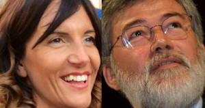 Raffaella Paita e Sergio Cofferati