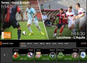 Lucchese-L'Aquila: diretta streaming con Sportube su Blitz, ecco come vederla