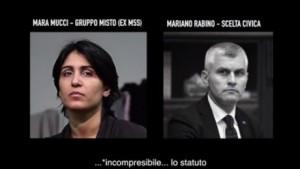 "Beppe Grillo: ""Mariano Rabino compra così ex M5s"" VIDEO su Facebook"