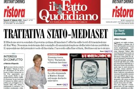 """Marco Travaglio sul Fatto Quotidiano: """"Le Torri Gemelle"""""""