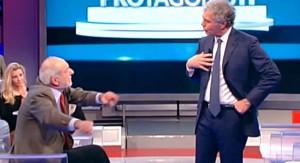 """Mario Capanna a La Zanzara: """"Massimo Giletti? Poveraccio che fa figure di merda"""""""