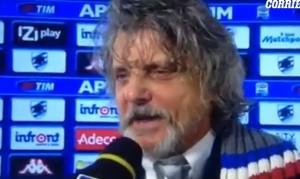"""Massimo Ferrero a Ilaria D'Amico: """"Vengo a prenderti con la Torpedo blu"""" VIDEO Fb"""