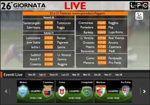 Matera-Casertana: diretta streaming su Sportube.tv, ecco come vederla