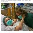 Maurizia Paradiso in ospedale, Vladimir Luxuria le fa visita FOTO