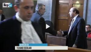 Moratti stringe la mano a Luciano Moggi FOTO-VIDEO